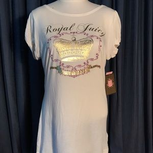 Juicy Couture NWT ivory T-shirt